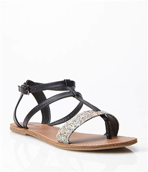 gladiator sandals forever 21 forever 21 glittered gladiator sandals in black black