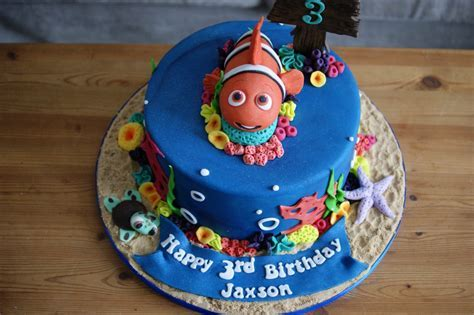 Finding Nemo 3rd Birthday Cake   Bakealous