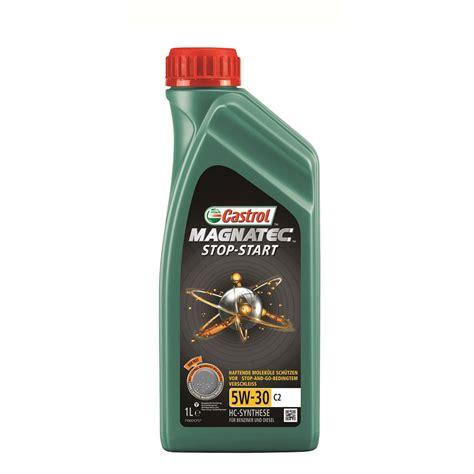 castrol magnatec stop start    motoroel  liter