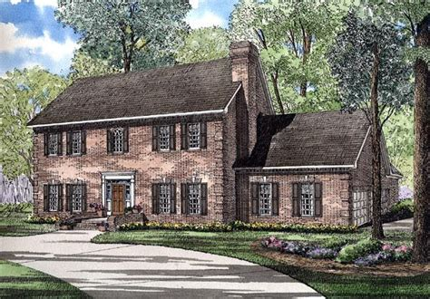southern colonial house plans colonial southern house plan 61077