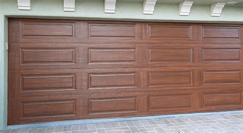 Garage Doors That Look Like Wood Neiltortorella Com Garage Door Wood Look