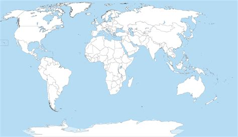 world map blank file a large blank world map with oceans marked in blue png