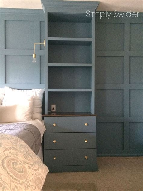 Diy Built In Cupboards For Bedrooms by Diy Master Bedroom Built Ins Hometalk