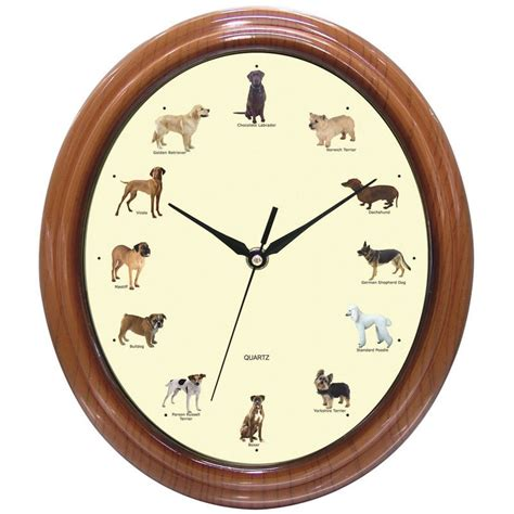 sounds that make dogs go happyglowlights amazing barking clock is much happy glow lights to be happy
