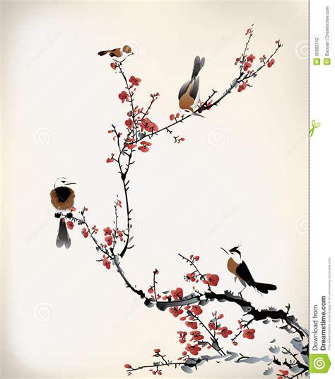 japanese ink painting bird www imgkid com the image