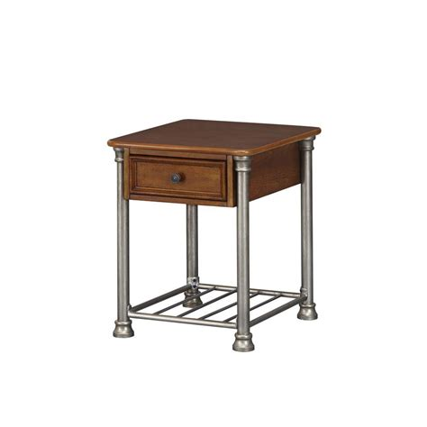 metal side tables for living room upc 095385000226 home styles living room tables wood and