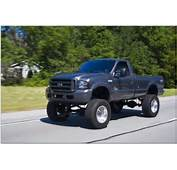 Lifted Ford F250 Single Cab  Jacked Up Pinterest