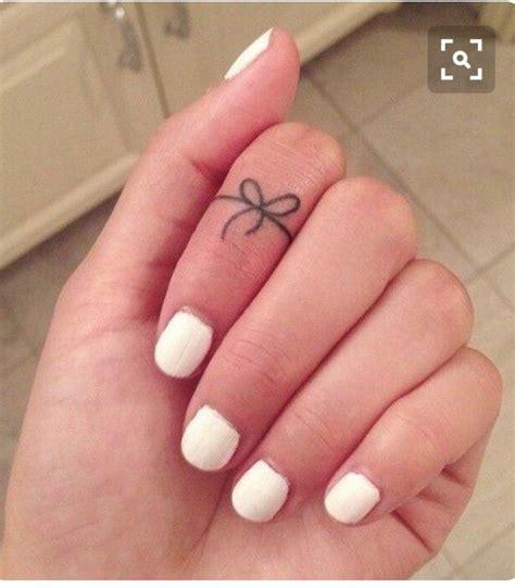 tattoo finger bow best 25 bow finger tattoos ideas on pinterest inside