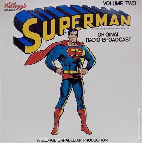 Superman Original Superman 5 superman original radio broadcast record comic books