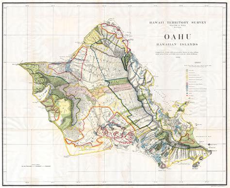 printable map honolulu file 1902 land office map of the island of oahu hawaii