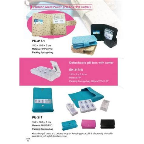 Puremed Pill Cutter Prm 317 pill box with pill cutter pu 317 pill box with bag e link plastic metal industrial co