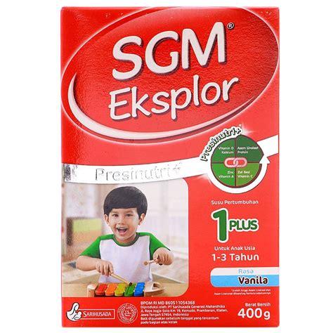 Sgm 1 Plus by Jual Sgm Explor 1 Plus Vanila Harga Murah Kota