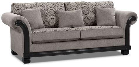 Hazel Chenille Sofa Grey United Furniture Warehouse Grey Chenille Sofa