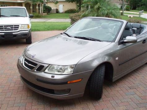 how to sell used cars 2004 saab 42133 security system sell used 2004 saab 9 3 arc convertible 2 door 2 0l in palm coast florida united states