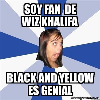 Annoyed Black Girl Meme - meme annoying facebook girl soy fan de wiz khalifa black