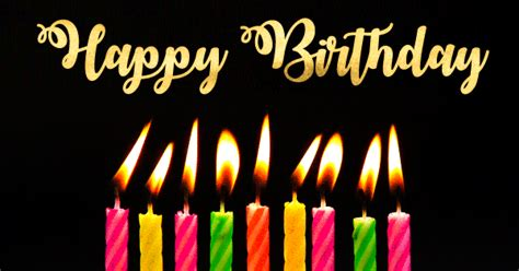 Happy Birthday Wishes Animation Birthday Greetings For Lovers Cute Romantic Wishes