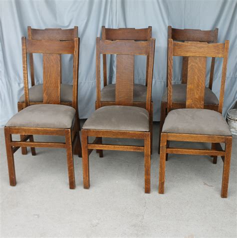styles furniture corp bargain s antiques 187 archive set of six oak
