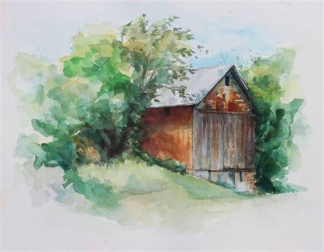 watercolor tutorial buildings best 25 watercolor barns ideas on pinterest barn
