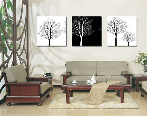aliexpress com buy unframed 3 sets abstract tree modern canvas wall art home wall decor hd popular tree art buy cheap tree art lots from china tree