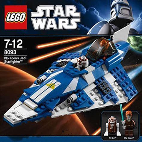Lego 8093 Plo Koons Jedi Starfighter lego 8093 wars plo koon s jedi starfighter