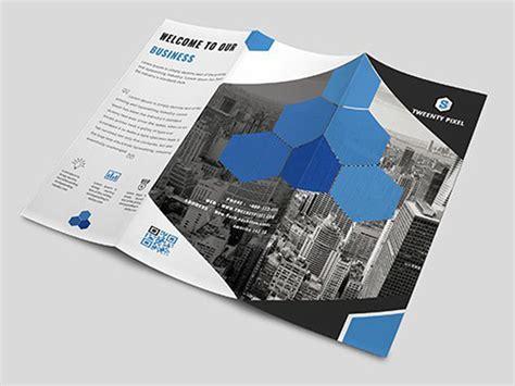 free creative brochure templates free creative tri fold brochure template free psd ui