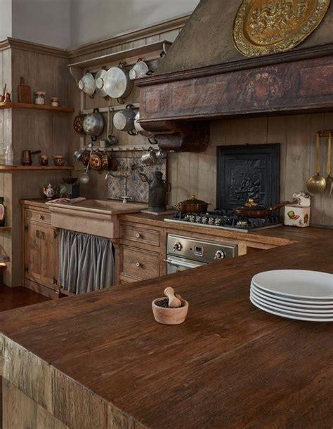 tipi di arredamento la cucina una cucina rustica toscana