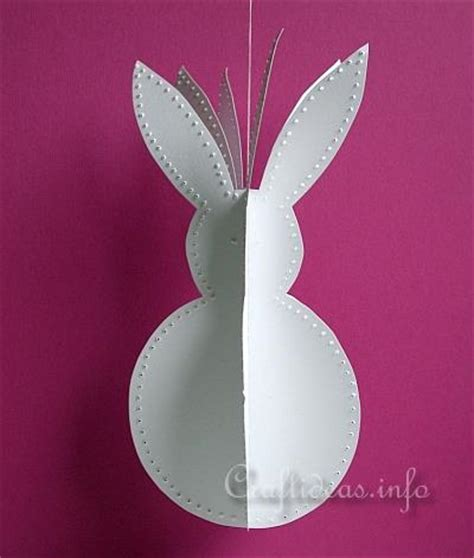 paper crafts  easter  paper easter bunny decoration
