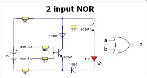 resistor transistor logic nor gate transistor nor gate 28 images resistor transistor logic nor gate 28 images nor gate using