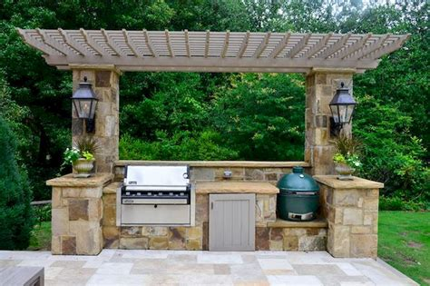 Ideas For Outdoor Kitchens by 46 Outdoor Kitchen Ideas On A Budget Besideroom Com