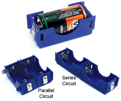 d cell electricity magnetism battery holders