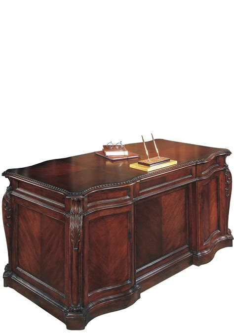 executive office desk mahogany executive office desk ebay