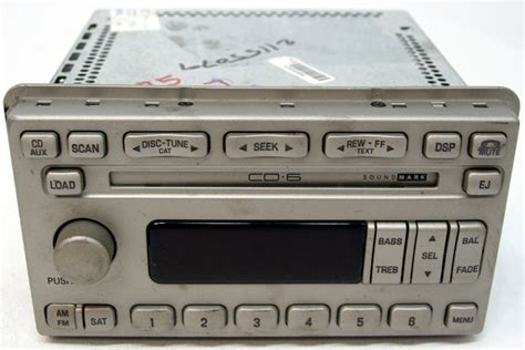 2003 lincoln town car radio problems 2003 2004 lincoln navigator factory 6 disc cd changer