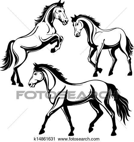 cavallo clipart clipart cavallo k14861631 cerca clipart illustrazioni