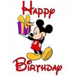 birthday card mickey mouse say it with a greetings card