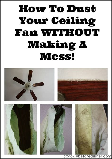 how to balance a ceiling fan without a kit how to dust your ceiling fan without making a mess