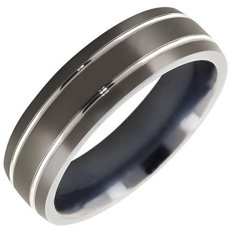 15 best ideas of titanium mens wedding rings