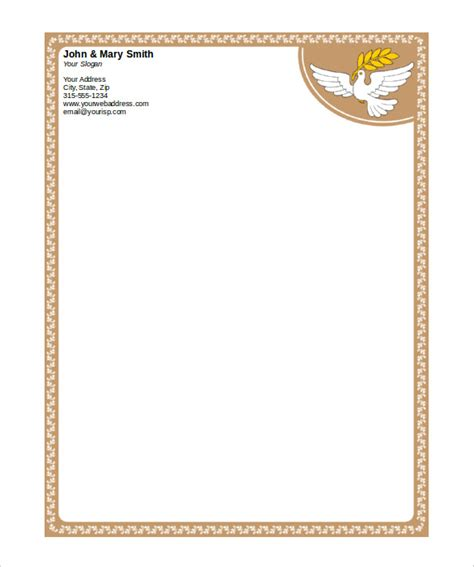 word stationery templates 32 word letterhead templates free sles exles