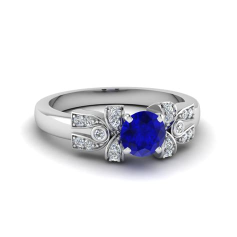 sapphire engagement rings for fascinating diamonds