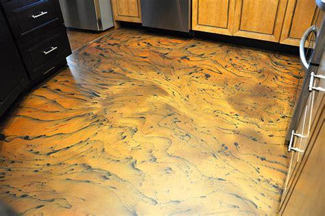 Epoxy Floor in a San Diego Kitchen Wows Architect