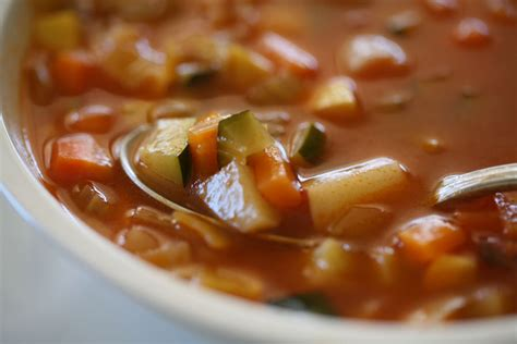How To Make Garden Vegetable Soup Garden Soup A Simple Celebration Of Vegetables And Herbs