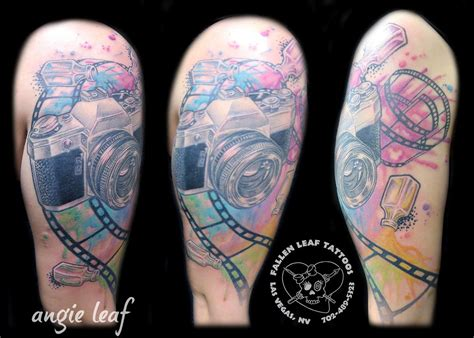 classic tattoo las vegas classic watercolor by angela leaf tattoos