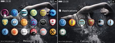 themes bb bold 9650 foursquare for 9650 97xx themes free blackberry themes