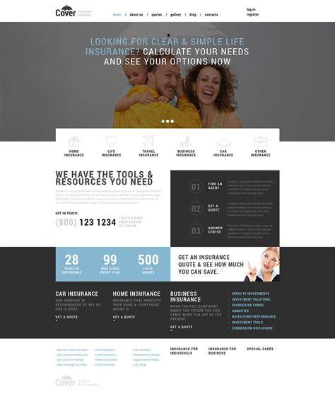Homepage Template Vorlagen Joomla Vorlage 50996 F 252 R Versicherung Homepage