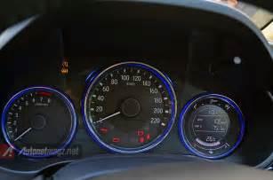 Honda Speedometer 2014 All New Honda City Speedometer Autonetmagz