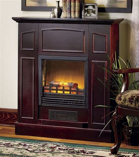 Fireplace Alcove by Alcove Franklin Electric Fireplace Heater With Mantel