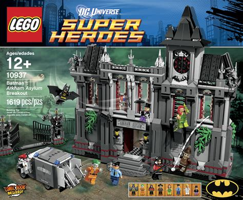 amarah murka duo superhero di teaser batman v superman massive new lego arkham asylum set announced