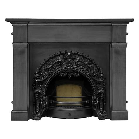 buy carron rococo cast iron fireplace insert