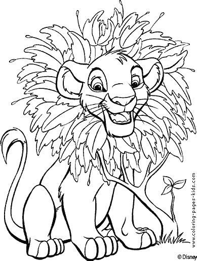 disney coloring page websites lion king baby simba coloring pages pinterest