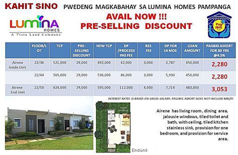 Lot House Pampanga Lumina Skyland Homes Marketing Services