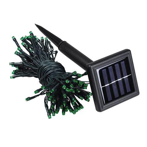 100 outdoor solar led string lights 100 led solar fairy string light outdoor party garden lawn